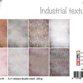 Papierset - Design - Industrielle Texturen