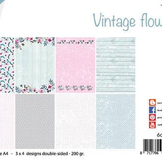Papierset - Design Vintage Flowers 6011/0649