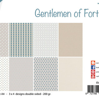 Papierset - Design - Gentlemen of Fortune 6011/0661