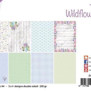 Papierset - Design - Wild flowers/Wildblumen 6011/0665