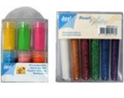 Farben, Stifte & Glitter