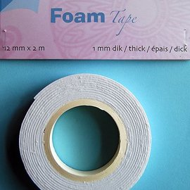 Foam Tape 1,0 mm 12mmx2m