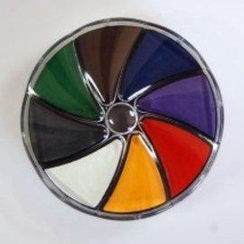 Feld der Stempel-pad nr. 1 helle Farben