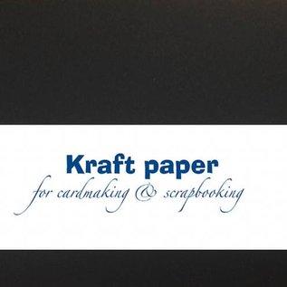 Kraft paper - Black 30,5x15cm 8089/0244