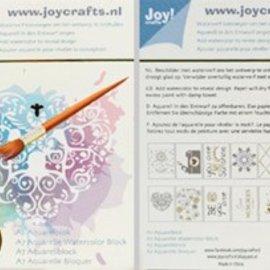 Aquarel blocks - Various designs 12pcs A7