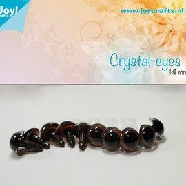 Crystal eyes - Brown (14mm)