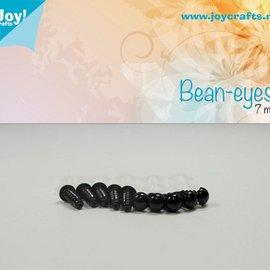 Bean eyes - Schwarz (7mm)