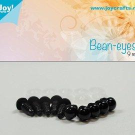 Bean eyes - Schwarz (9mm) - 6300/0613