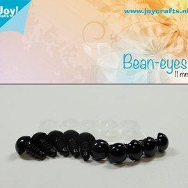 Bean eyes - Black (11mm)
