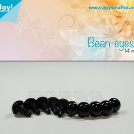 Bean eyes - Black (14mm)