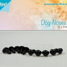 Hunde Nase Schwarz (12x9mm)