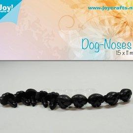 Hunde Nase Schwarz (15x11mm)