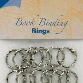 Bookbinders rings 20mm, 12pc