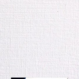 Paper for cardmaking linen structure white 10x20cm