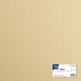 Paper for cardmaking linen structure white 15x30 cm, 225 gr