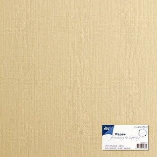 Leinenkarton - weiß 15x30 cm