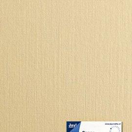 Paper for cardmaking linen structure crème A5, 21x14,8 cm, 225 gr