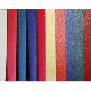 Papierset DIN A4 5x5 Blatt mit Struktur 120gr 250gr