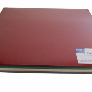 Christmas colors. 80 sheets.<br /> Colors: Red, Green, Yellow, White and blue.
