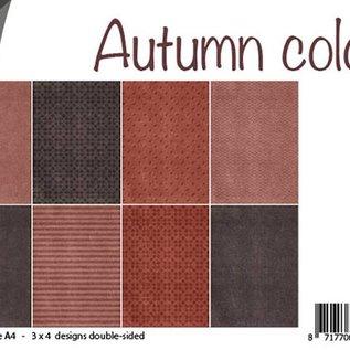 Papierset - Herbstfarben