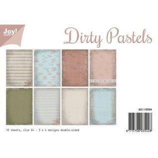 Papierset- Dirty Pastels A4