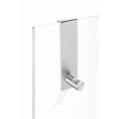 Zack BATOS hook for glass shower enclosure 40347 (matt stainless steel)