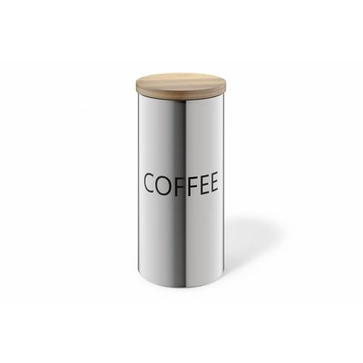 Zack CERA container COFFEE (24006) matt stainless steel