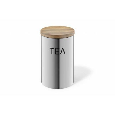 Zack Conteneur CERA TEA (24004) en acier inoxydable mat