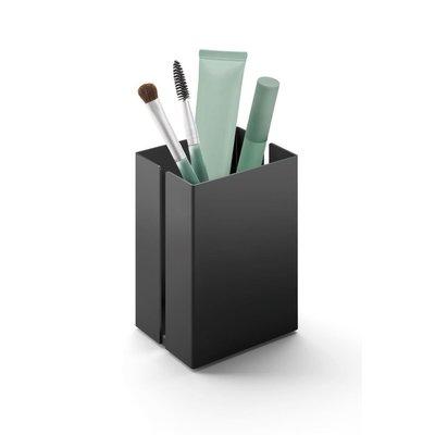 Zack POTES storage tray 7.5 cm 40536 (powder coated steel, black)