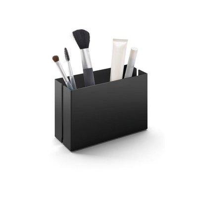Zack POTES storage tray 15 cm 40535 (powder coated steel, black)
