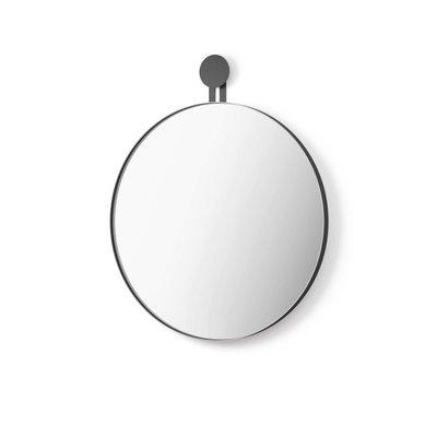 Zack MORMA wall mirror around 50 cm (black) 50640