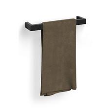 Zack LINEA handdoekstang 46,5 cm  (zwart)