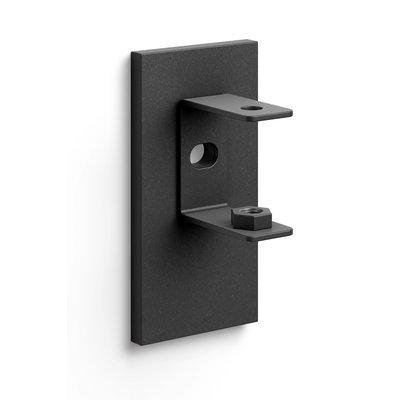 Zack LINEA muurbeugel 40585 (zwart) set/2 stuks