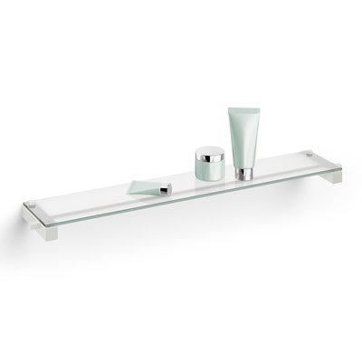 Zack CARVO shelf with glass plate 40816 (white)