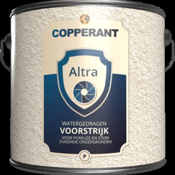 Copperant Altra Voorstrijk, wit gepigmenteerde voorstrijk voor zuigende en poederende ondergronden