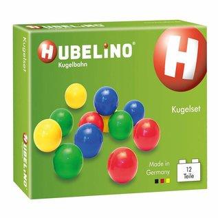 Hubelino HUBELINO Knikkers Kunststof, 12 stuks