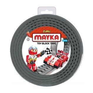 Zuru-Mayka Zuru-Mayka W2GY Block Tape 4 Noppen 2m Grijs - LEGOCompatible