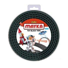 Zuru-Mayka Zuru-Mayka W2BK Block Tape 4 Noppen 2m Zwart - LEGO Compatible