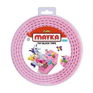 Zuru-Mayka Zuru-Mayka W2PK Block Tape 4 Noppen 2m Roze - LEGO Compatible