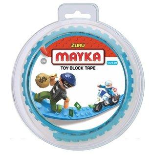 Zuru-Mayka Zuru-Mayka O1LB Block Tape 2 Noppen 1m Licht Blauw - LEGO Compatible