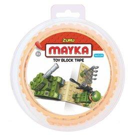 Zuru-Mayka Zuru-Mayka O1SN Block Tape 2 Noppen 1m Zand - LEGO Compatible