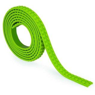 Zuru-Mayka Zuru-Mayka O1LG Block Tape 2 Noppen 1m Licht Groen - LEGO Compatible