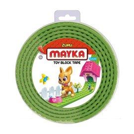 Zuru-Mayka Zuru-Mayka W2LG Block Tape 4 Noppen 2m Licht Groen - LEGO Compatible