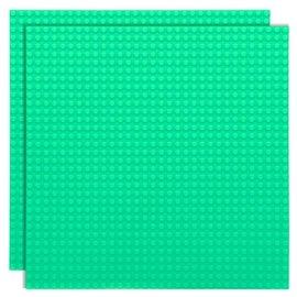 Strictly BRIKS Strictly BRIKS LBP32PG Bouwplaat 32x32 Pastelgroen - Duopak