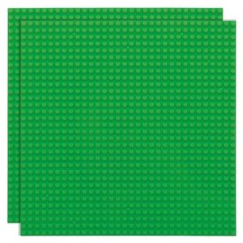 Strictly BRIKS Strictly BRIKS LBP322GR Bouwplaat 32x32 Groen - Duopak