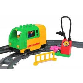 Huimei Electrische goederen trein groen