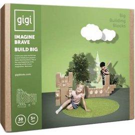 Gigi Bloks GIGI Blokken G-4, GIGI Bloks set 30 stuksXL