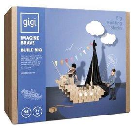Gigi Bloks GIGI Blokken G-3, GIGI Bloks set 96 stuks XL