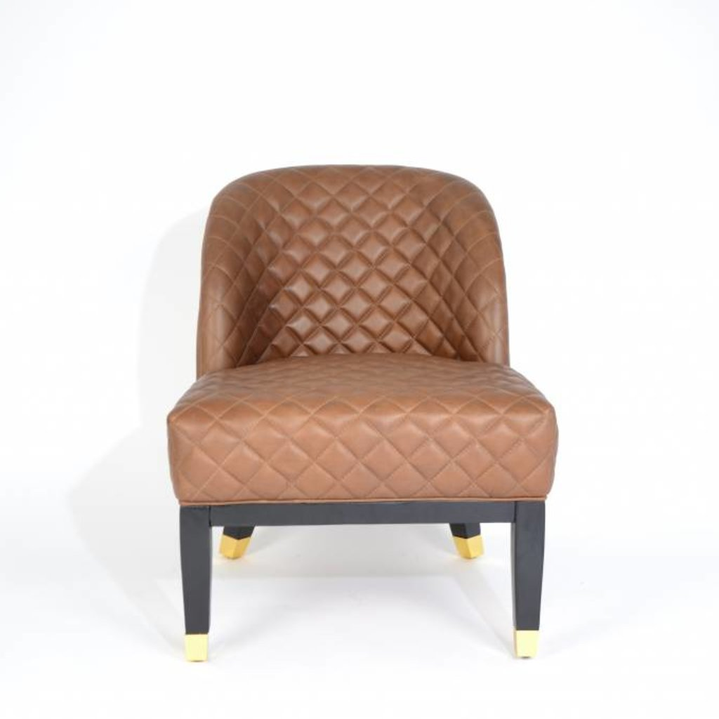 The Grand COCO Arm Chair Brown Leather