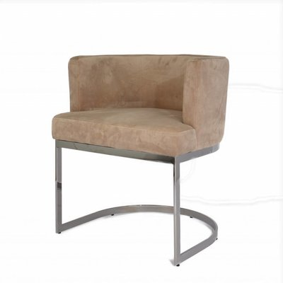 The Grand PIMLICO Dining Chair Taupe Velvet